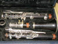 Vintage (1960s?) Wood Normandy Clarinet Made in France FREE SHIPPING!!