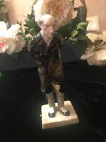 Crown Staffordshire Charles Dickens' Mr. Pecksniff Figurine