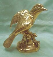 Vintage Crown Staffordshire GOLD Bird RARE