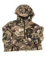 Under Armour Ridge Reaper Forest Camo Hunting Jacket 1247863 940 Size L