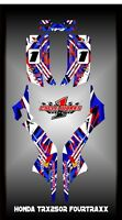 Honda TRX 250R  ATV SEMI CUSTOM GRAPHICS KIT CHAOS