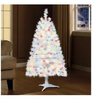 4ft Pre-Lit Indiana Spruce Artificial Christmas Tree with 105 Multicolored Light