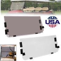 Club Car DS Tinted Clear Fold Down Acrylic Windshield 2000.5 - Golf Cart Parts
