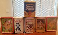 Vintage Cracker Jacks LE Collector's Series Advertisement Tins Lot of 6