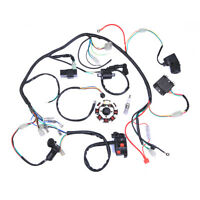 Complete Electrics Wiring Harness 3 Holes For ATV QUAD 150 200 250 300cc Go Kart