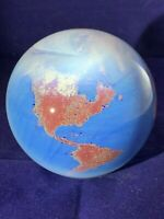Lundberg Studios, Vintage Paperweight of the Earth