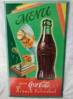 VTG RARE 1949 Coca Cola SPRITE BOY Litho Cardboard Advertising Poster Sign 27