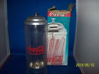 Coca Cola Straw Dispenser Item# 8791