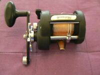 Shakespeare Tidewater T120L Level Wind Conventional Trolling Reel - Very Nice