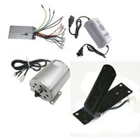 Electric Brushless 48V 1800W Speed Motor & Controller & Foot Pedal & Charger ATV