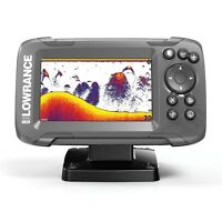 Lowrance Fish Finder 14014-001 HOOK2 4x Bullet Transducer GPS Plotter sonar boat