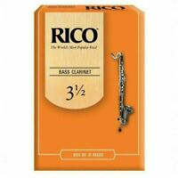 Rico Bass Clarinet Reeds Strength 3.5 10-Pack Strength 3 1/2  REA1035