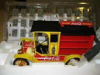 NIB Franklin Mint 1913 Ford Model T Coca-Cola Delivery Truck Die Cast 1/16 Scale