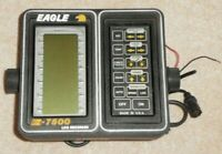 EAGLE Z-7500 LCG RECORDER DEPTH FINDER With power cord.