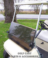 Club Car DS Tinted Fold Down Acrylic Windshield 2000.5 - Golf Cart Parts MAX