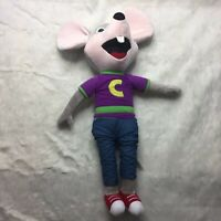 Chuck E Cheese Large Soft Plush Doll J1Y
