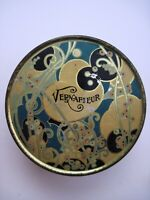 Vintage Powder Tin quot;Vernafleurquot; California Perfume Co. quot;Can Made In U.S.A.quot; *