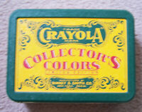 Vintage CRAYOLA Collector's Colors Limited Edition Tin