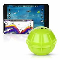 Eyoyo Bluetooth Fish Finder Wireless Sonar Fishfinder for Dock/Boat/Ice Fishing