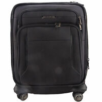 SAMSONITE EXECUTIVE 19 INCH CARRY ON SPINNER SUITCASE IN BLACK