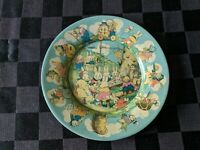 Tindeco Lithograph Plate - Peter Rabbit's Radio Party Easter