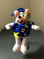 2003 Chuck E Cheese  MOUSE LIMITED EDITION WIZARD plush  TOY DOLL NWT