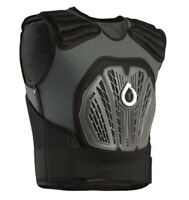SixSixOne 661 Core Saver Vest Spine Protector Black Youth MX Motocross ATV