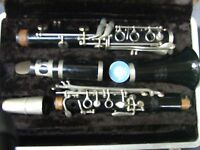 Vintage  Buescher Aristocrat Clarinet w Case Made in USA