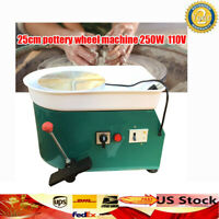 Pottery Wheel Machine For Ceramic Work Ceramics Clay China 250W  Advanced GREEN