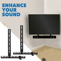 Universal Sound Bar Bracket Holder Mount for Yamaha YAS107 YSP Soundbar Speakers $25.92