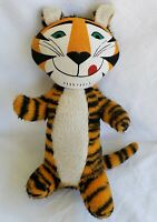 Vtg Kelloggs Advertising Tony The Tiger Frosted Flakes Plush Stuffed Toy