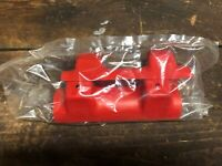 HONDA 350X ATC 85-86 NUMBER PLATE MOUNTS RED