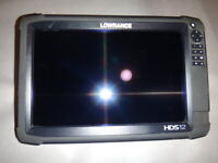 Lowrance HDS 12 Touch Insight GEN 3 GPS/Fishfinder Excellent Condition