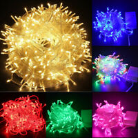 500LED Outdoor Fairy String Lights Christmas Tree Waterproof Wedding Mall Decor