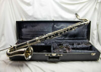 YCL-220 Yamaha Bass Clarinet Student Model, 221 Equivalent in Nice Condition!
