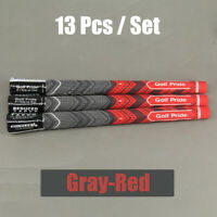 13Pcs 2019 New MCC Plus 4 Golf Pride Grips Set Size Standard Red Multicompound