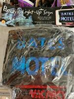 Halloween Official Psycho Bates Motel Theme Light-Up Sign Decoration Brand New