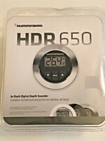 Humminbird HDR 650 Digital Marine Gauge Water Depth Finder Deep Shallow Alarm