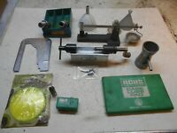Reloading scale + trimmer + pacific 308 dies Trickler lube pad case gauge funnel