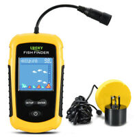 100M Portable Sonar Sensor Fish Finder Fishfinder LCDUltrasonic Echo Sounder NEW