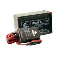 Vexilar 9 Amp Battery W/Charger