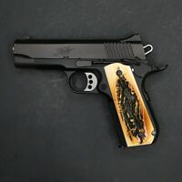 DURAGRIPS - KIMBER SMITH & WESSON SIG Round Heel 1911 Grips - FAUX STAG