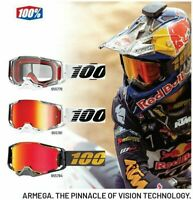 100% ARMEGA Goggles or LENS Offroad ATV MX PICK Your Color **FREE SHIPPING**