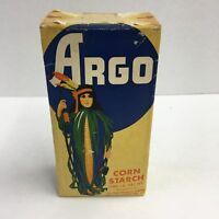 Old Not Opened, Argo CORN STARCH Box, Cooking, Baking, Vintage