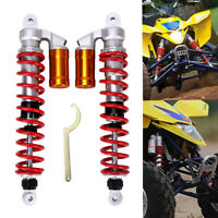PAIR AIR FRONT SHOCKS ABSORBERS FOR SUZUKI QUADSPORT LTZ400 Z400 400CC ATV