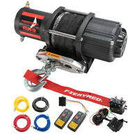 Electric Winch 4500LBS Synthetic Rope Remote Control for ATV UTE Offroad Boat