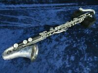 *Conn Plastic Bass Clarinet Ser#L32335 Plays Great with a Big Round Sound!*