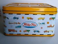 Tonka Toys Hasbro Chest Tin Can Storage Large Collectible Popcorn Tin Series 1