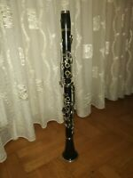 Old wooden Amati clarinet in Bb Albert system