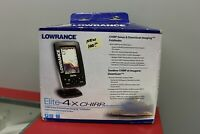 Lowrance Elite 4x Chirp, Down Imaging